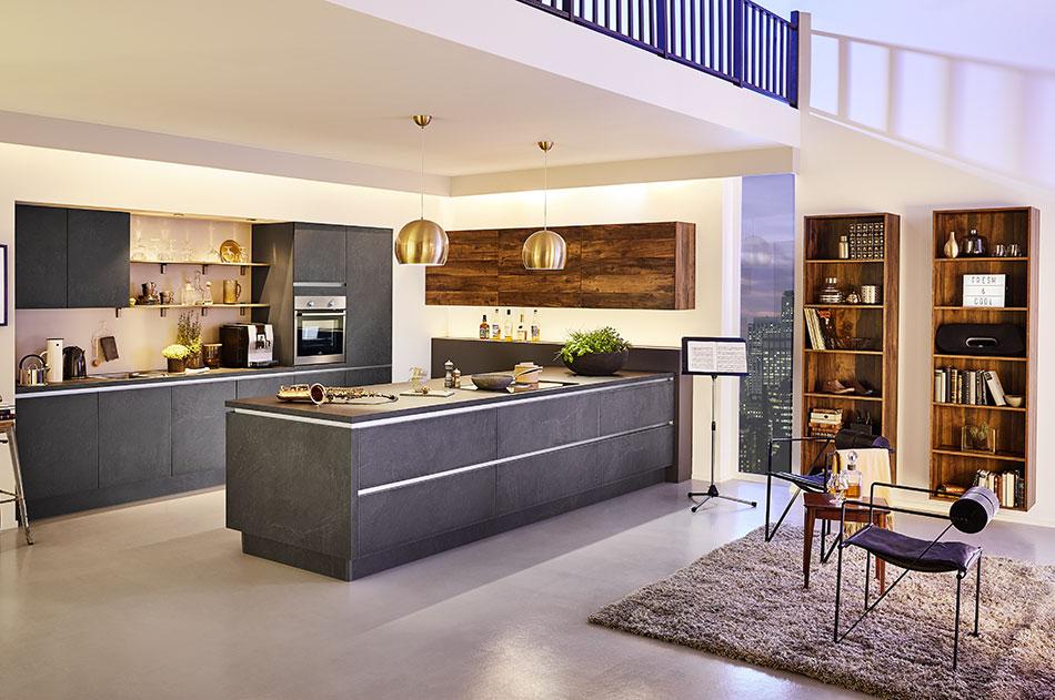 Großzügige Designerküche Möbel Neust Gmbh